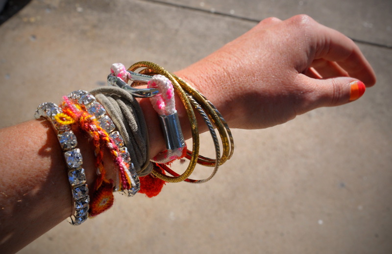 Diy Snap Hook Bracelet