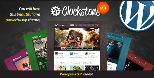 Image for Clockstone – Ultimate WordPress Theme by ThemeForest