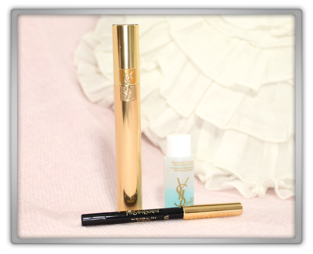 Yves Saint Laurent Mascara Volume Effet Faux Cils Set Haul Review YSL Dessin du regard waterproof Pencil blogger beauty