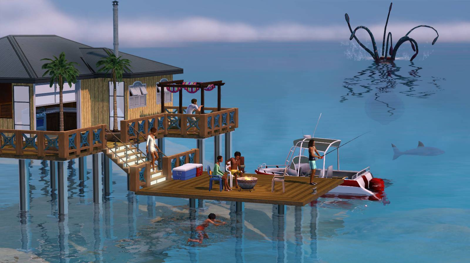 The sims 3 island paradise video game review biogamer for Classic house sims 3