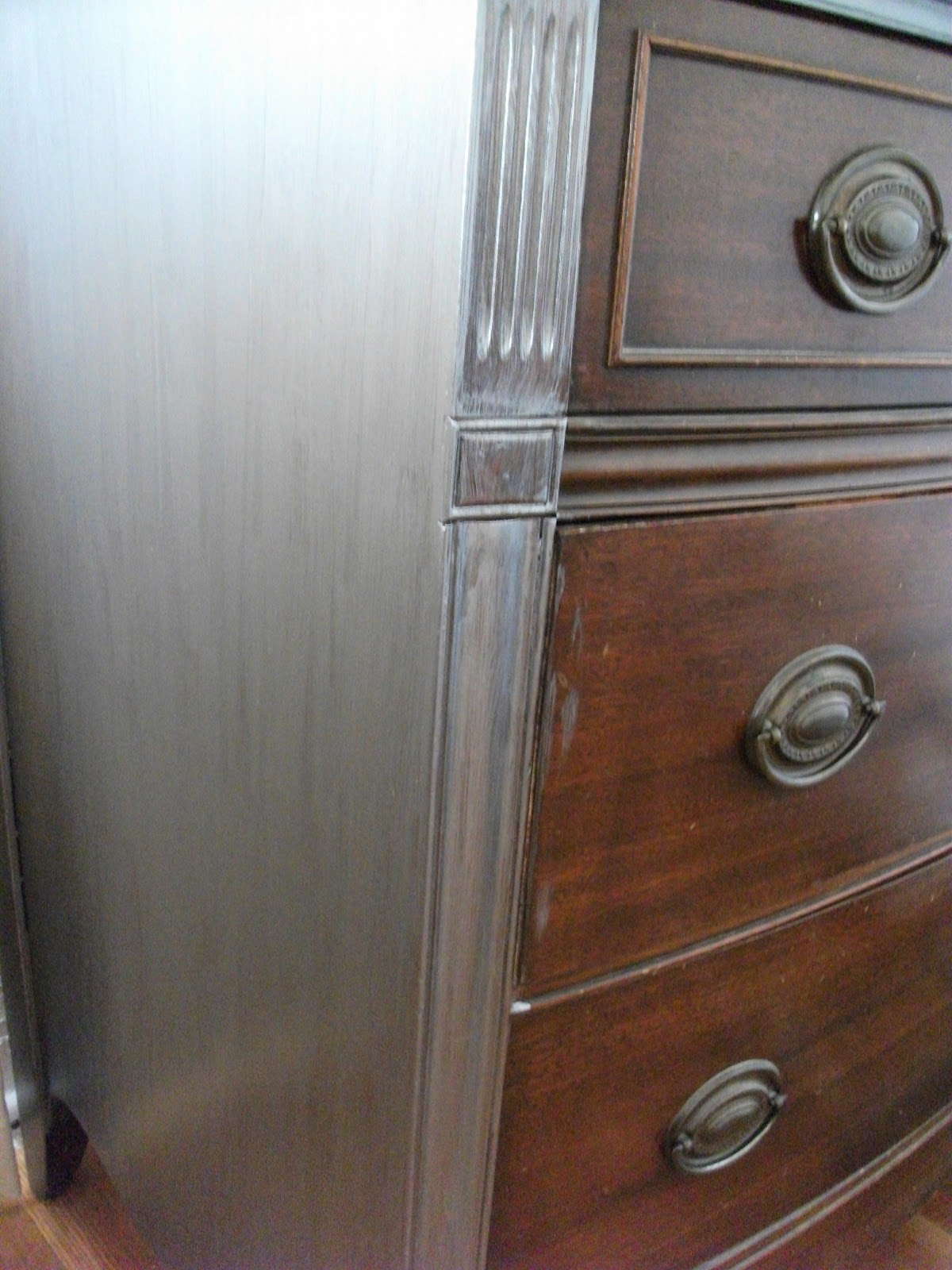 Paint Your Dresser Metallic Silver DIY   Finished   Martha Stewart Paints
