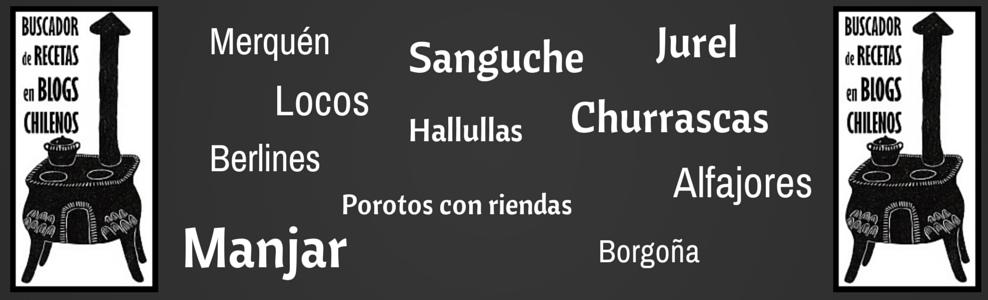 Buscador de recetas en blogs chilenos