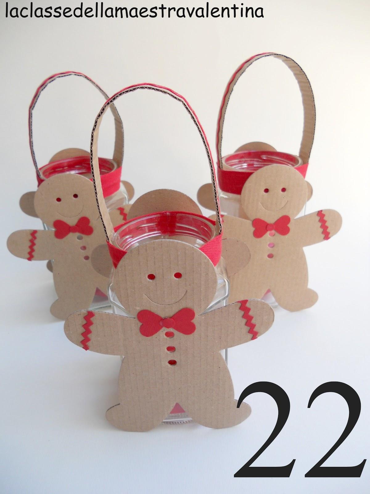 La classe della maestra valentina lanternine natalizie for La classe della maestra valentina primavera