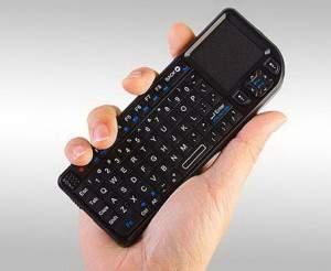 Keyboard Mini Tanpa Kabel - Dilengkapi Touchpad Navigasi