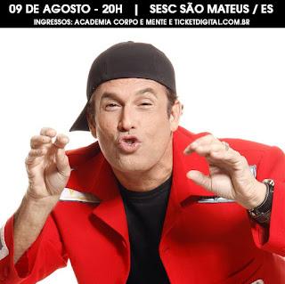 Sérgio Mallandro  em São Mateus