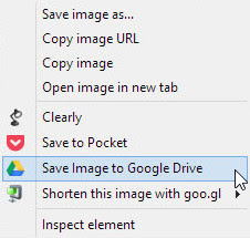 Save to Google Drive, besplatni dodatak za Google Chrome