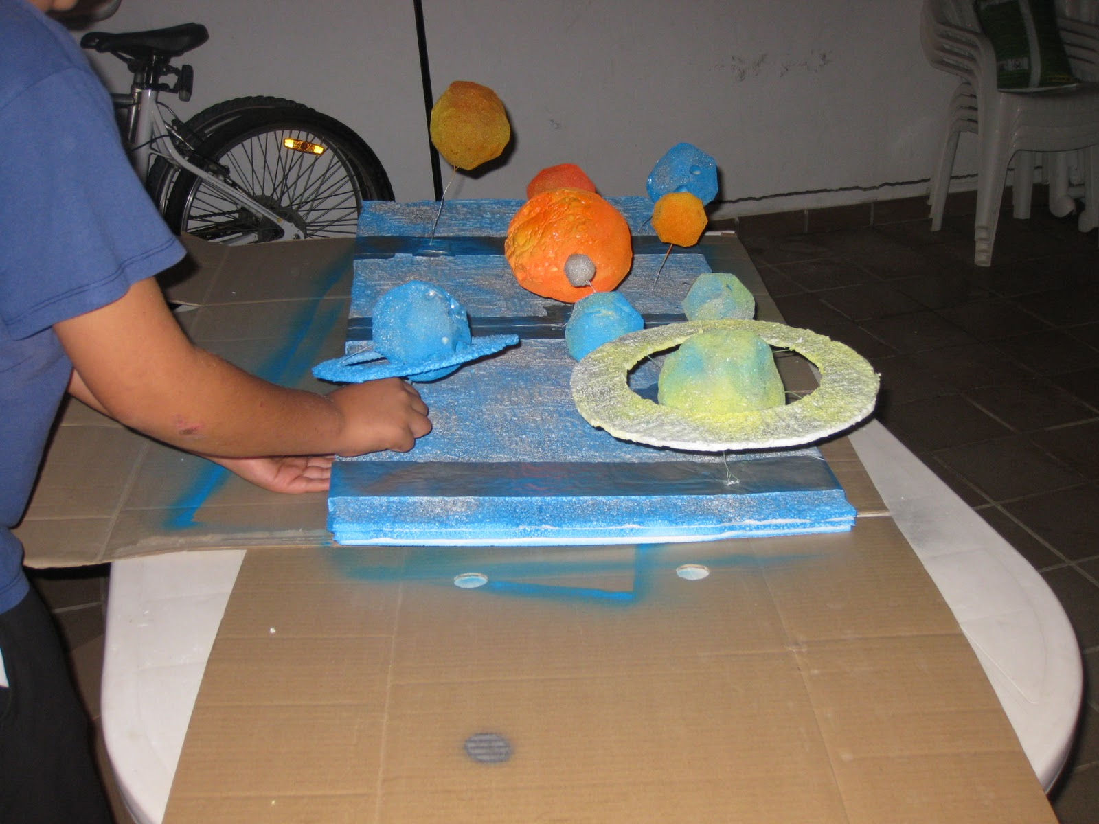 Astronom a creativa y planeta mundo c mo hacer el sistema for Como hacer un proyecto de comedor infantil