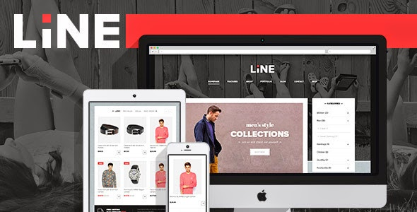 New Responsive eCommerce Template