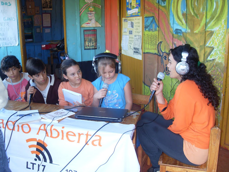 Radio Abierta - Visita de LT 17 Radio Provincia