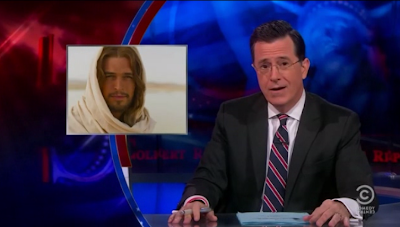 Stephen Colbert diz que Diogo Morgado é demasiado bonito para fazer de Jesus