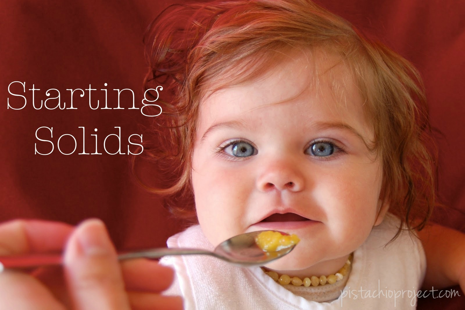 Starting Solids - Avoiding White