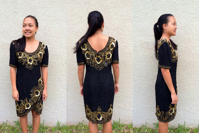diy prom dress, vintage prom dress