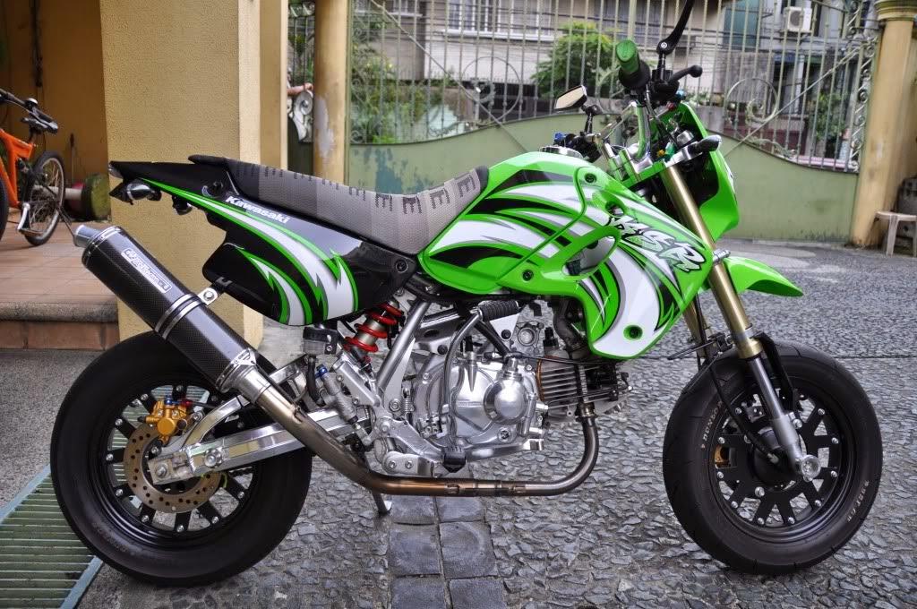 Kawasaki KSR 110 Modified