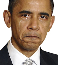 obama crying 