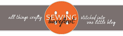 Sewing Barefoot