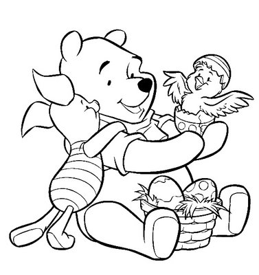 Puff Para Colorir Ursinho Pooh E Sua Turma Para Imprimir E Colorir
