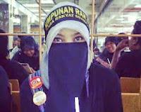 DAP Lebih Dekat Dengan Keadilan Seperti Digagaskan Islam Kata Gadis Berpurdah Yang Menyertai DAP