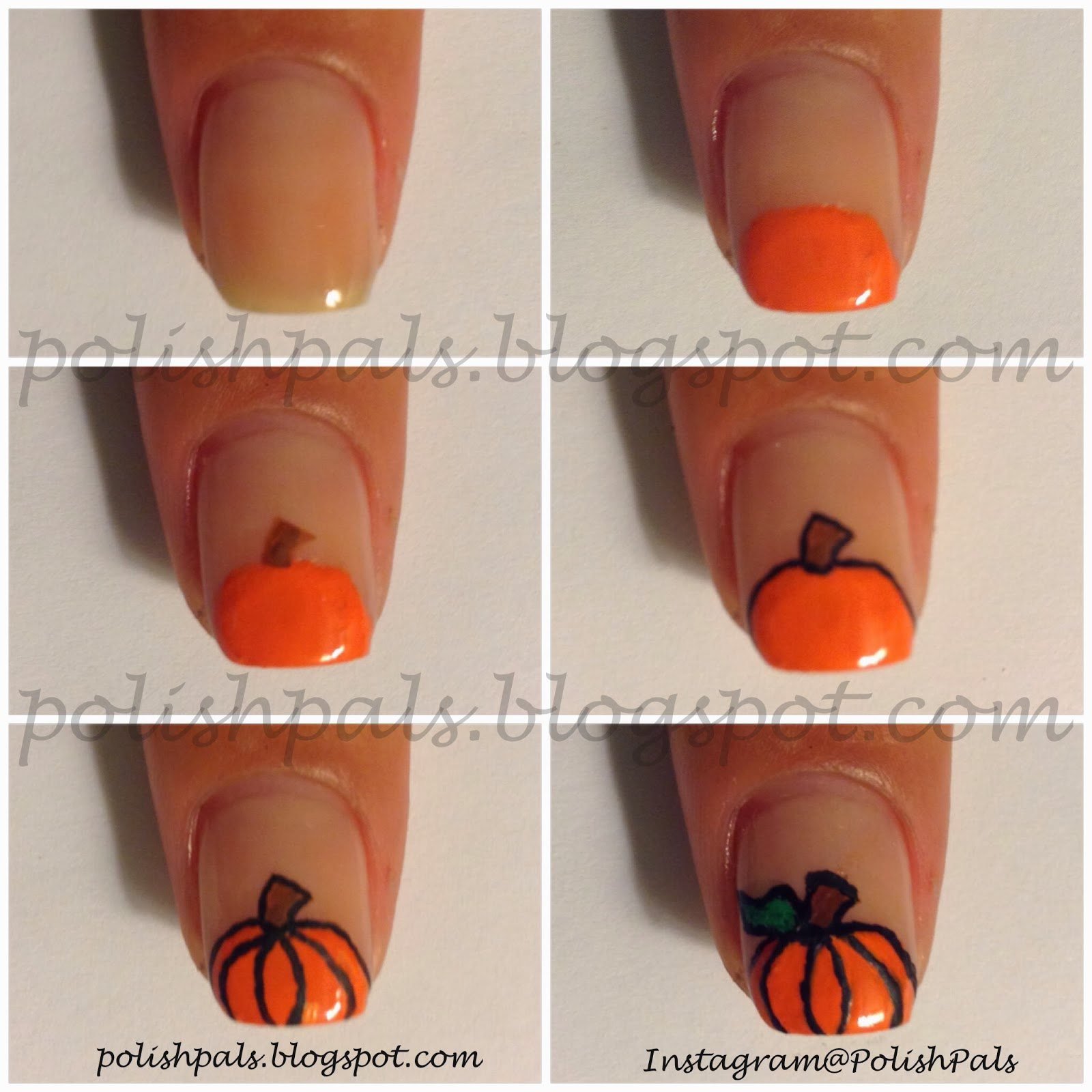 Polish pals pumpkin tutorial pumpkin tutorial prinsesfo Choice Image