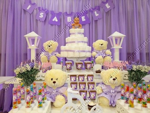 decoracao cha bebe ursinhas porto alegre