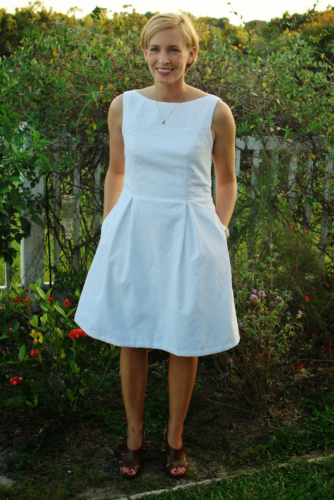 SouthShore Handmade: Marbella Dress Pattern Review and Giveaway