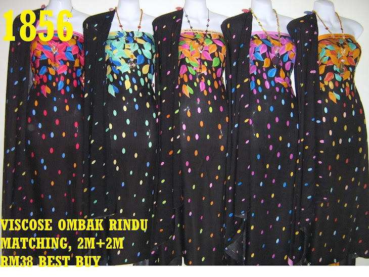 VM 1856: VISCOSE MATCHING OMBAK RINDU, 2M+ 2M