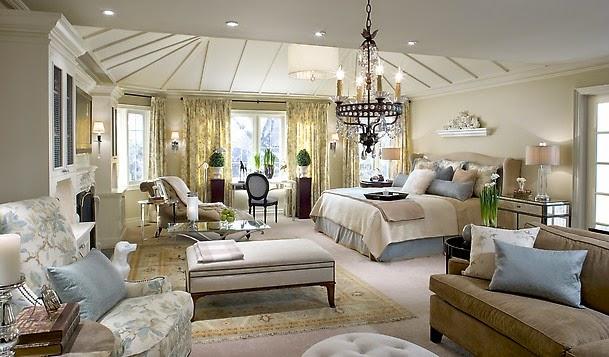 Decore sua mente seu corpo e seu espa o quartos luxuosos de casal - Romantic living room ideas for feminine young ladies casa ...