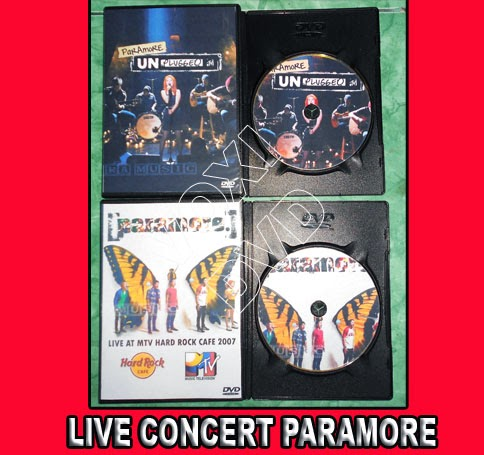 Unplugged Mtv Paramore Dvd Paramore Mtv Unplugged Bonus