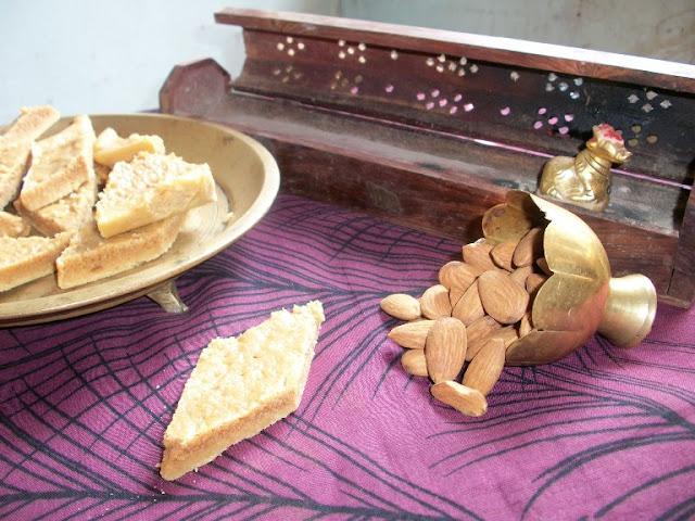 Milk Powder Barfi – Sweets for Diwali