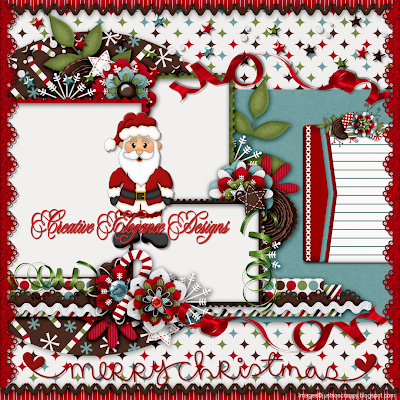 Merry Christmas Quick Page