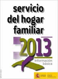 SERVICIO DEL HOGAR 2013