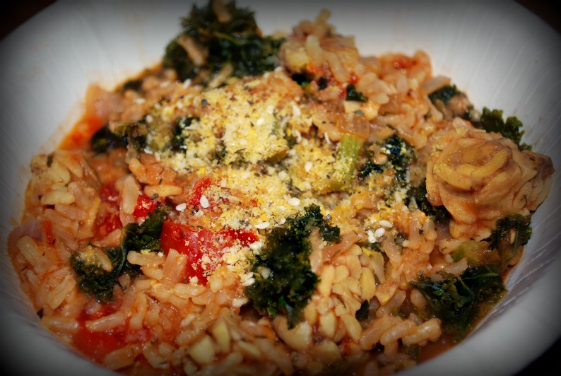 ... : Greek Kale and Rice Bowl Recipe and Kale Nutrition Information