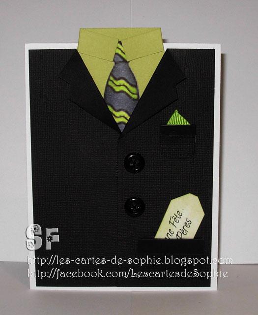 les cartes de sophie un veston pour la f te des p res. Black Bedroom Furniture Sets. Home Design Ideas