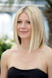 Gwyneth Paltrow Blonde Long Bob Hairstyle - Velebrity Hairstyle Ideas for Girls
