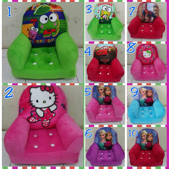 [BOOMING] PUSAT GROSIR SOFA HANDLE KIDS KARAKTER