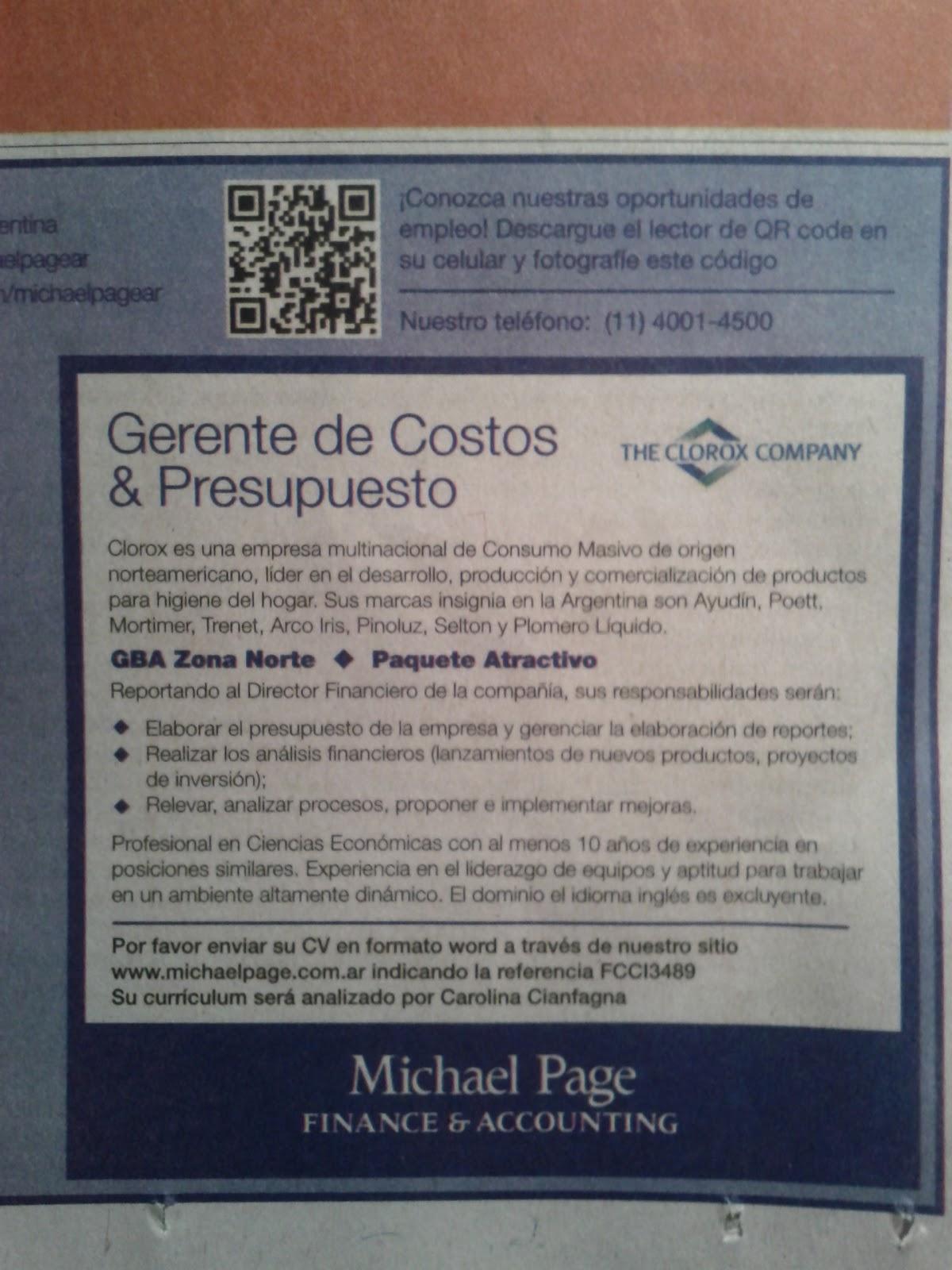Fantástico Ejemplo De Currículum Para Posición De Comercialización ...