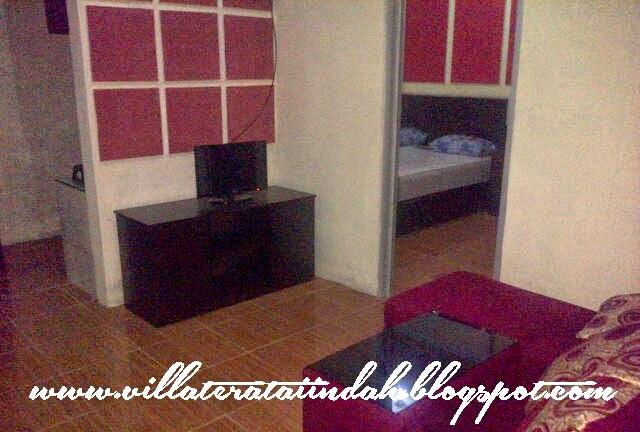 ruang keluarga villa minimalis