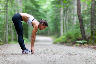 Light exercise and stretching can help relieve soreness.