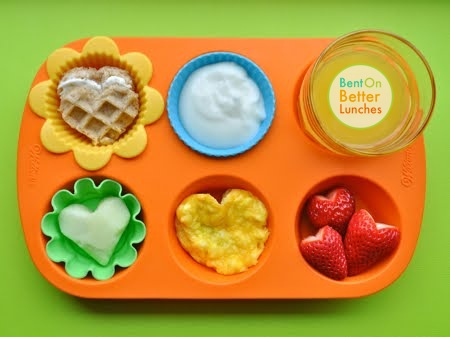 We Eat With Our Eyes - Muffin Tin Meal with Kid Appeal