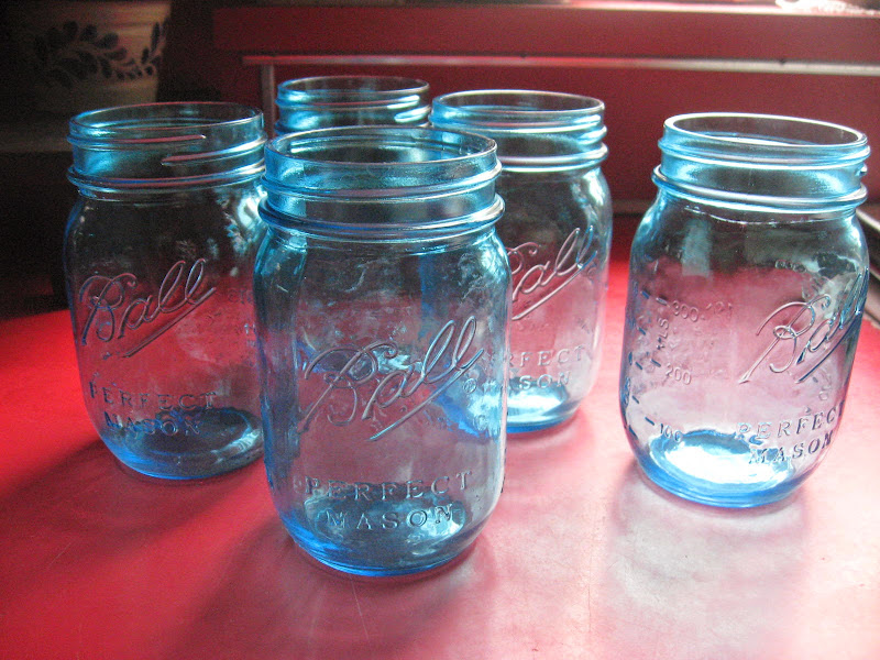 Here are a few of the ways I use glass jars throughout my home title=