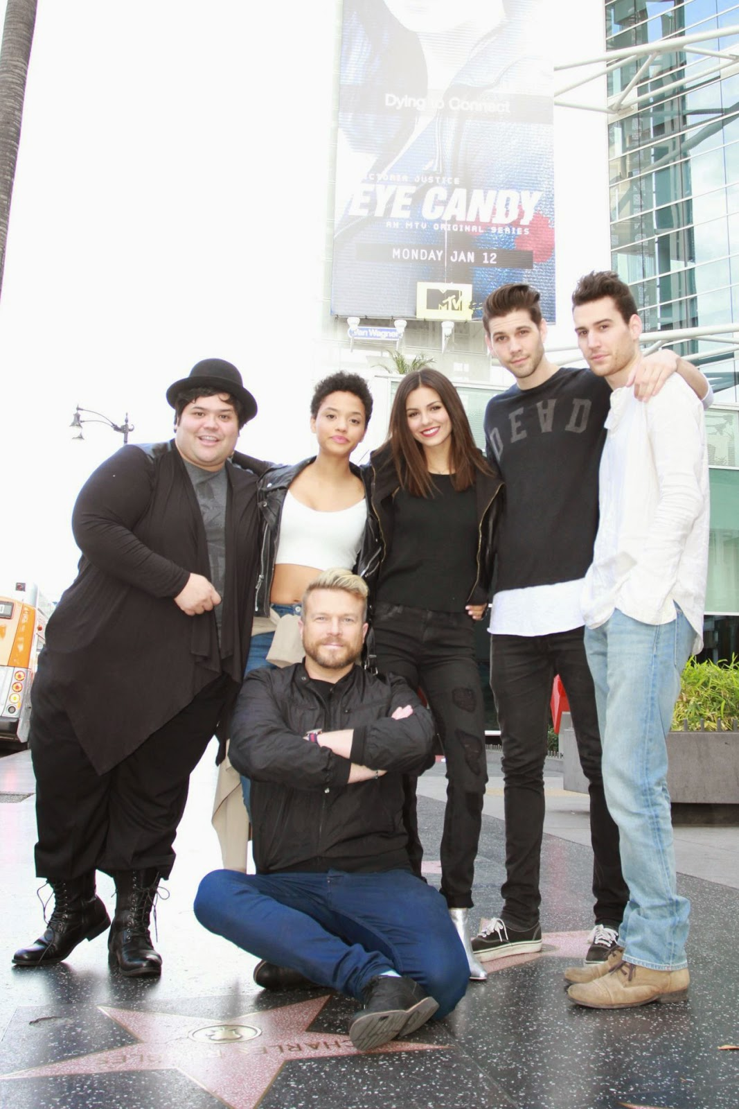 Victoria Justice – 'Eye Candy' Cast Photoshoot in Hollywood