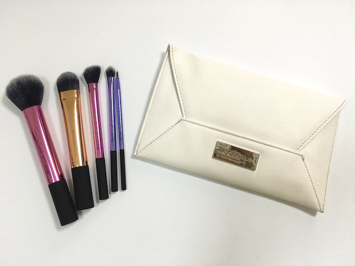 NEW-Real-Techniques-Limited-Edition-Holiday-Brush-Set-With-Clutch