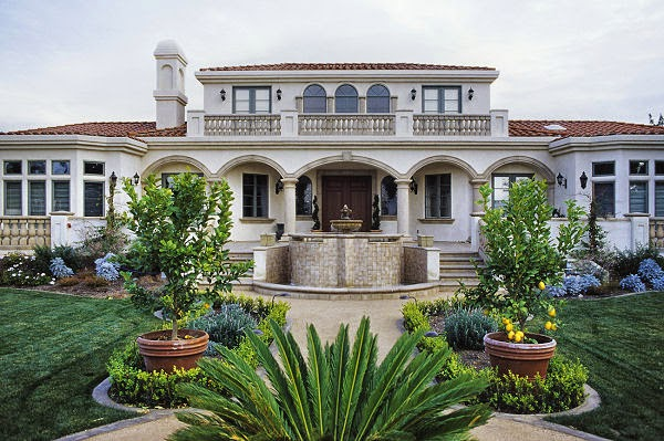 Look at Style Classic and Elegant Mediterranean House
