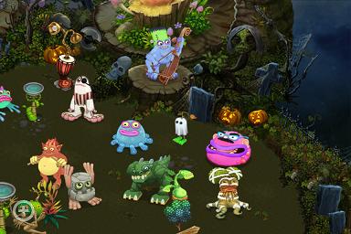Halloween Hi-Jinks from My Singing Monsters