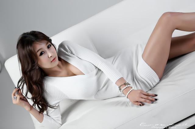 1 Seo Yoon Ah in White -Very cute asian girl - girlcute4u.blogspot.com