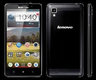 Spesifikasi Lenovo P780
