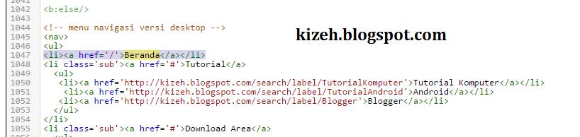 cara mengelompokkan postingan blog