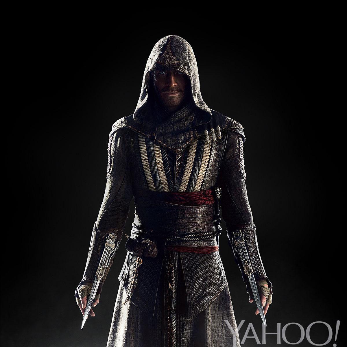 Primeira imagem de Michael Fassbender como Callum Lynch em Assassin's Creed
