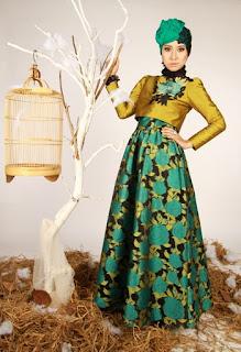 model hijab Igo Cantik baju kebaya
