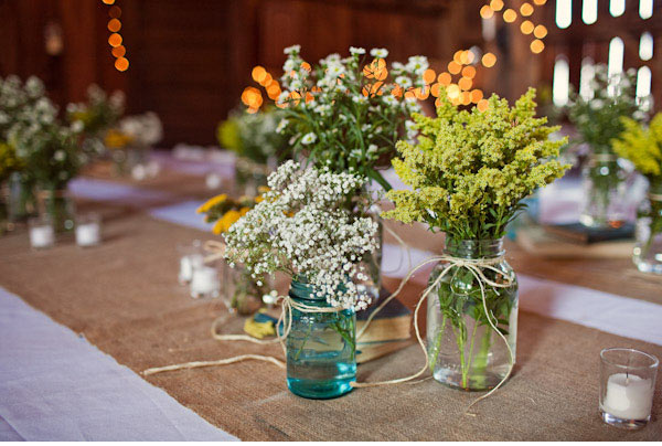 Wedding Party Table Decorations