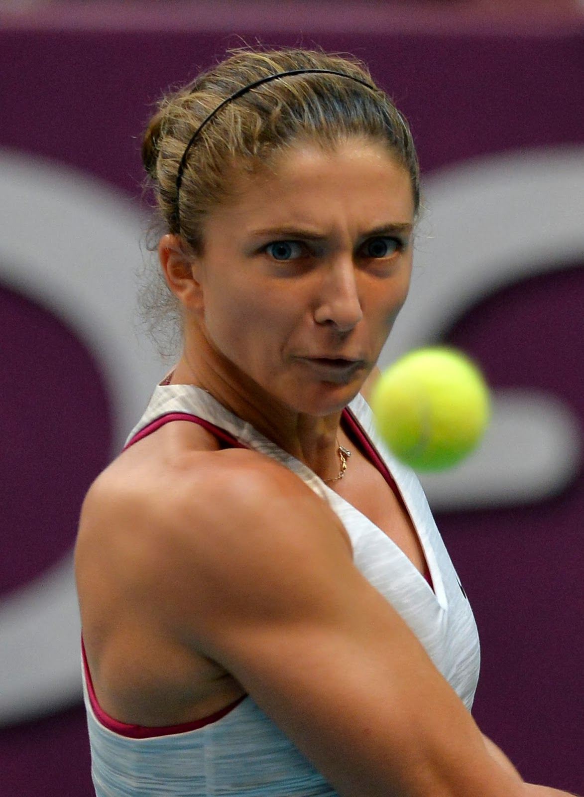 2014, Final, Italy, Match, Paris, Pavlyuchenkova, Russia, Sara Errani, Singles, Tennis, Tournament, Winner, Women, WTA Paris Open,